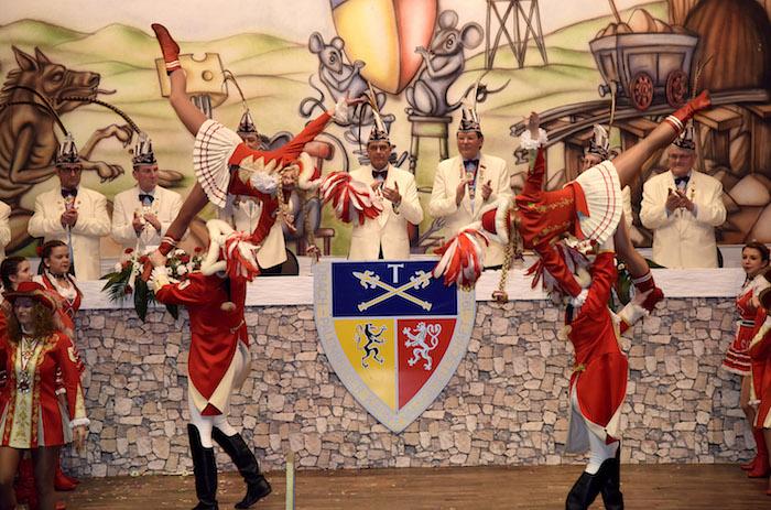 Karnevalssitzung der ÜPKG am 16. Januar 2016